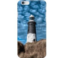 Spurn Lighthouse and Clouds iPhone Case/Skin