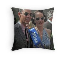 Miss 50's Fair Throw Pillow