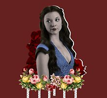 Margaery Tyrell Roses by davsob
