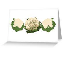 Cauliflower... Greeting Card