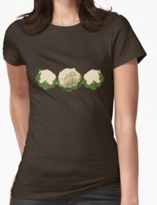 Cauliflower... Womens Fitted T-Shirt