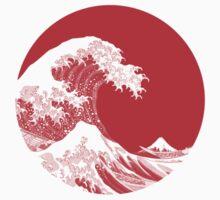 Hokusai, Kanagawa great wave by Nxolab