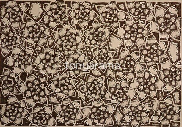 Pattern in Ink by tonyarama