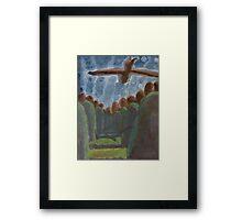 Brother Stanley's Eagles Framed Print