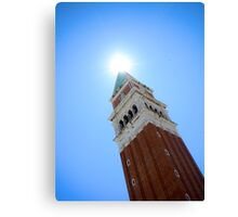 Venice Tower Canvas Print