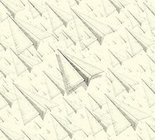 Paper Airplane 99 by YoPedro