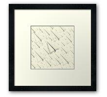Paper Airplane 99 Framed Print