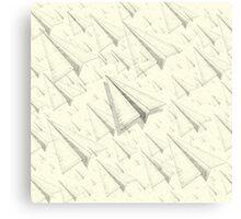 Paper Airplane 99 Canvas Print