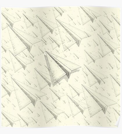 Paper Airplane 99 Poster