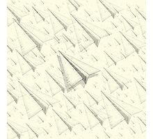 Paper Airplane 99 Photographic Print