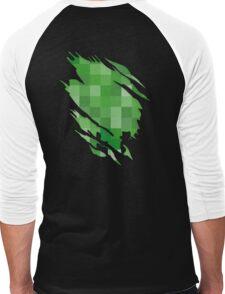 creeper Men's Baseball ¾ T-Shirt