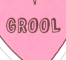 Candy Love Heart GROOL Sticker