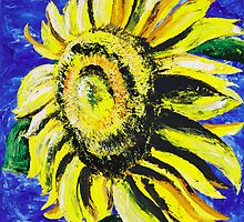 Sunflower by Sue Hodge