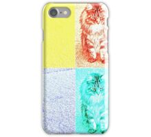 Warhol Kitten iPhone Case/Skin