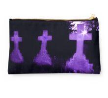 Purple Crosses Studio Pouch