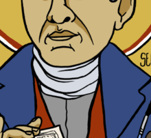 Rodolphe Töpffer: Patron Saint of Comics Sticker