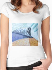 Temple In The Hills Women's Fitted Scoop T-Shirt