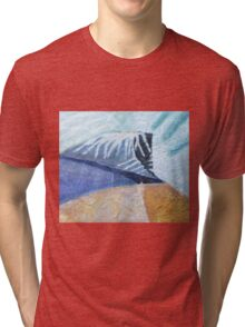 Temple In The Hills Tri-blend T-Shirt