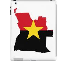 MPLA Flag Map of Angola iPad Case/Skin