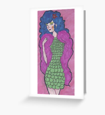 Stormer of The Misfits Greeting Card