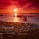 Botany Bay sunset by Erik Schlogl