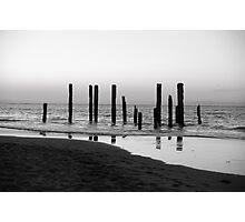 Pier Silhouette Photographic Print
