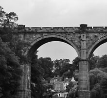River Nidd - Railway Bridge by acornandowl