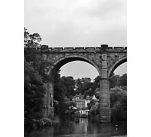 River Nidd - Railway Bridge Photographic Print