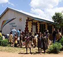 Wansimba Primary School by Rosie Appleton