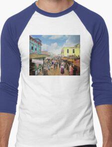 CITY - NY - The Bowery 1900 Men's Baseball ¾ T-Shirt