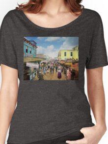 CITY - NY - The Bowery 1900 Women's Relaxed Fit T-Shirt
