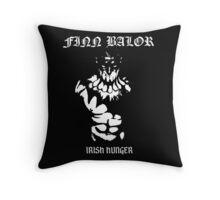 Irish Hunger Throw Pillow
