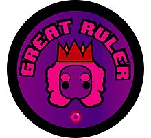 Great Ruler (Purple) Photographic Print