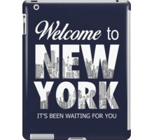 Taylor Swift - Welcome To New York2 iPad Case/Skin