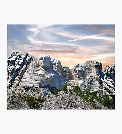 Presidential Photographic Print