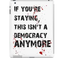 Kill Democracy iPad Case/Skin