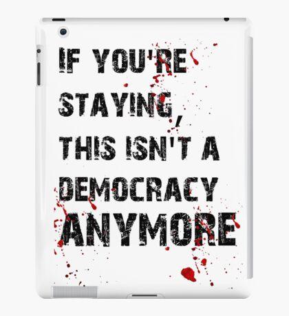 Kill Democracy iPad Case/Skin