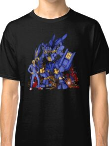 12th Doctor with Dalek Buster Classic T-Shirt