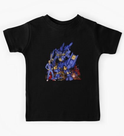 12th Doctor with Dalek Buster Kids Tee