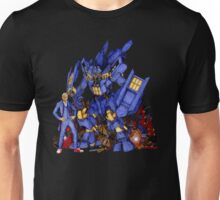 12th Doctor with Dalek Buster Unisex T-Shirt