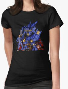 12th Doctor with Dalek Buster Womens T-Shirt