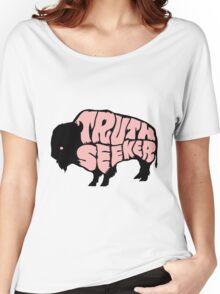 Truthseeker Buffalo Women's Relaxed Fit T-Shirt