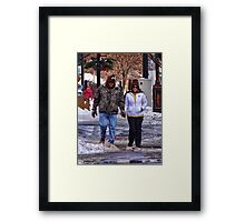 Check out our cool hats Framed Print