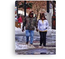 Check out our cool hats Canvas Print