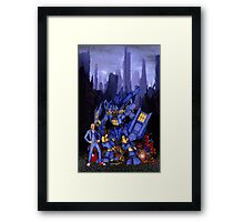 12th Doctor with Dalek Buster Framed Print