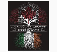 Canadian Grown with Irish Roots (sticker) by ianscott76