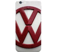 VW Kombi Badge #3 iPhone Case/Skin