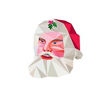Santa Claus Father Christmas Low Polygon by patrimonio