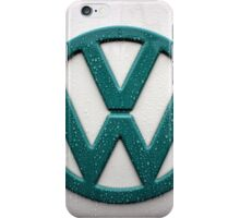 VW Kombi Badge #1 iPhone Case/Skin