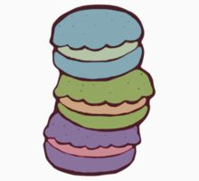 Cute Macarons by kalkos